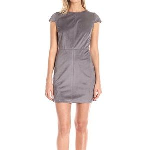 New Kensie Faux Suede Mini Dress Awesome!